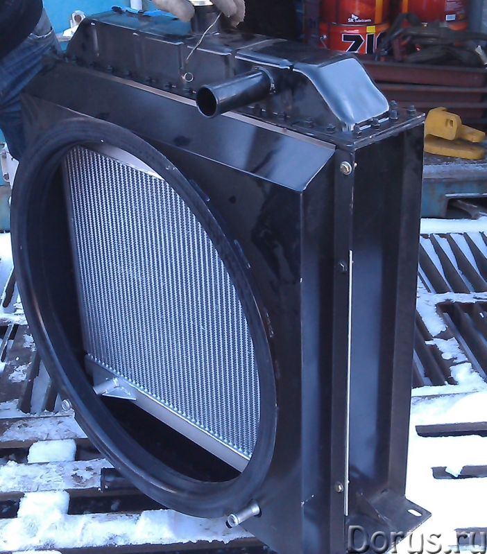 Радиатор охлаждения Yuchai 6B125 (800101763) xcmg lw300f - Запчасти и аксессуары - Радиатор охлажден..., фото 3