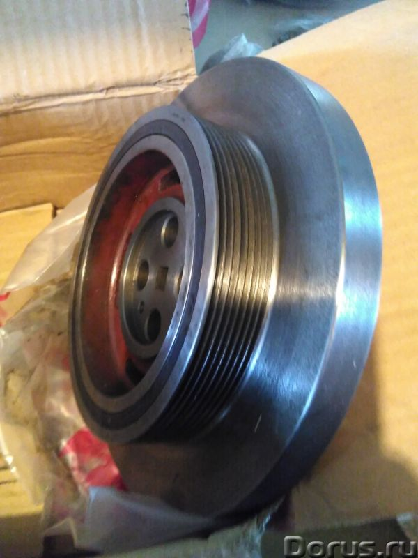 Демпфер (шкив) D06A-002-34B+C D06A-002-31 для двигателя SHANGHAI D6114, D9, C6121 XCMG LW500F - Запч..., фото 3