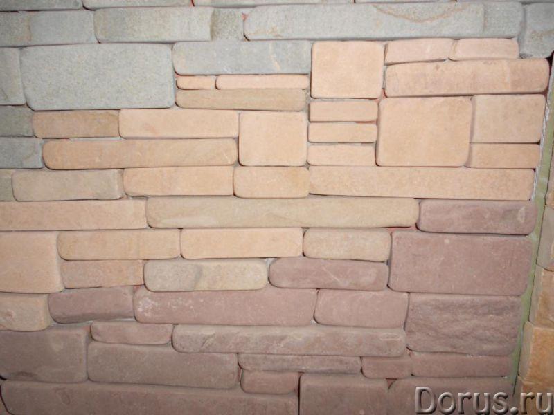 Декоративный камень галтованный - Материалы для строительства - Со склада в Березовке доставка уклад..., фото 1