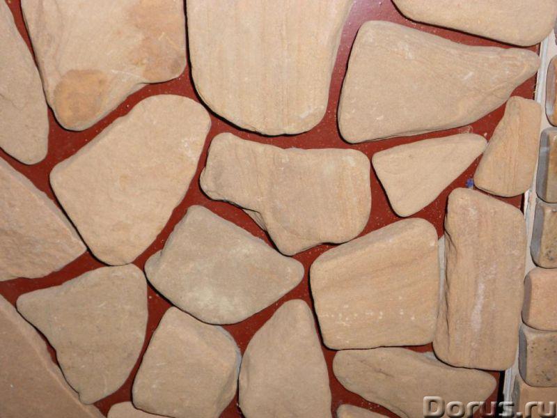 Декоративный камень галтованный - Материалы для строительства - Со склада в Березовке доставка уклад..., фото 3