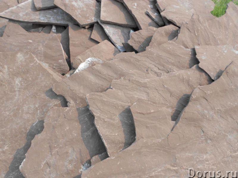 Натуральный природный камень песчаник плитняк - Материалы для строительства - Со склада в Березовке..., фото 2